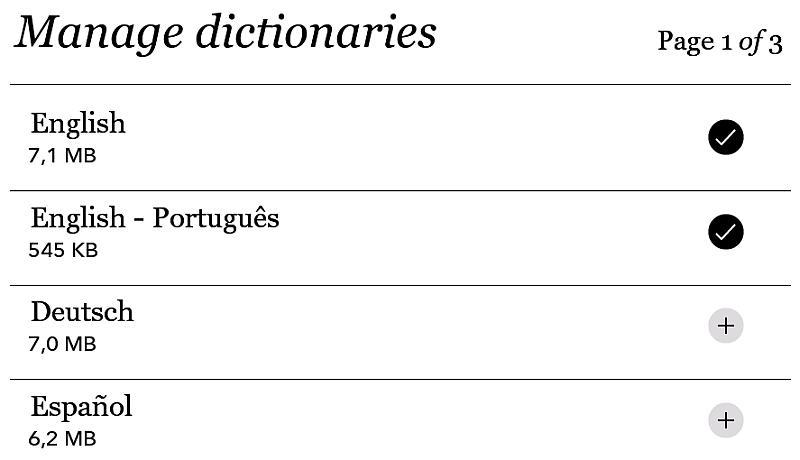 Instalacja słowników w Kobo Glo HD
