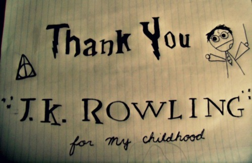 Thanks, J.K. Rowling!!
