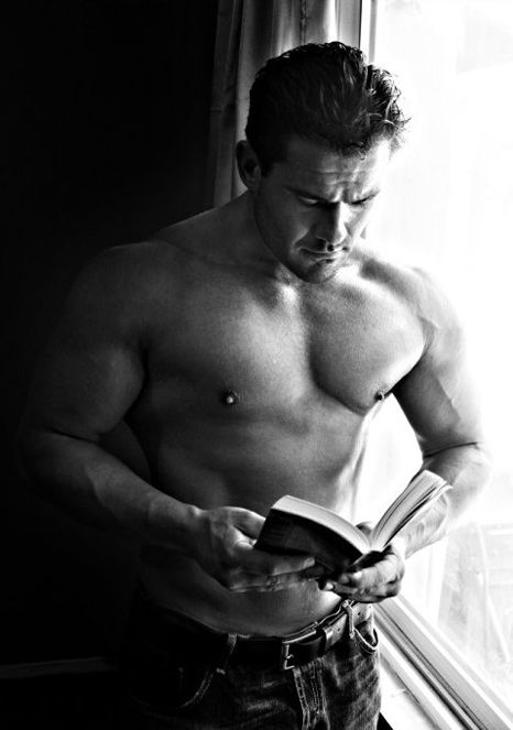 Hot Dudes Reading, #12