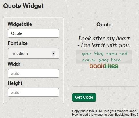 Quote Widget