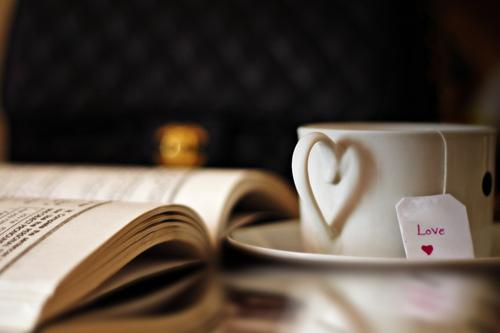 Tea and a good book.