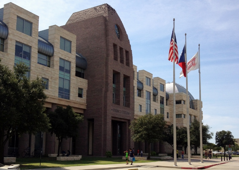 Frisco library building