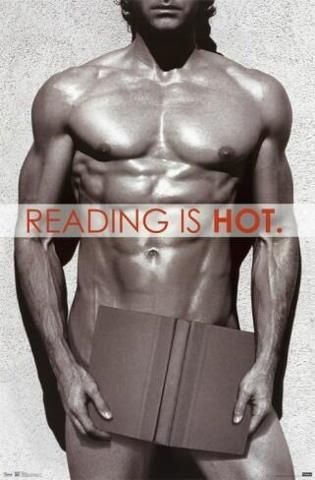 Reading is Hot  *faints*
