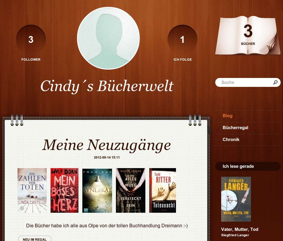 Cindy's Bucherwelt