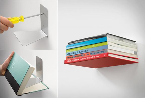 Półka na książki. Taka niewidzialna.