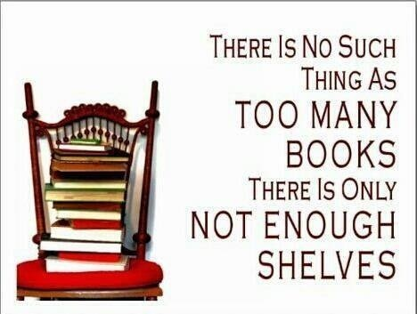 True! Although ebooks have really helped with this problem.