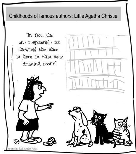 For all the Dame Agatha fans out there!
