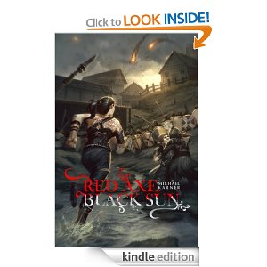 cover Red axe, black sun by M. Karner