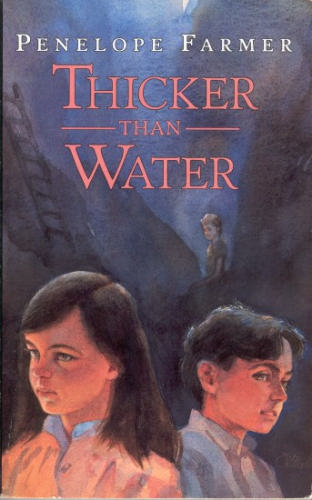 The cover of Penelope Farmer's Thicker than Water