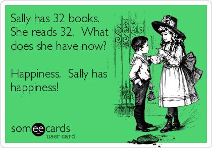 Sally has happiness!