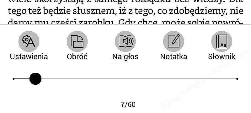 PocketBook InkPad 2 - uruchamianie TTS