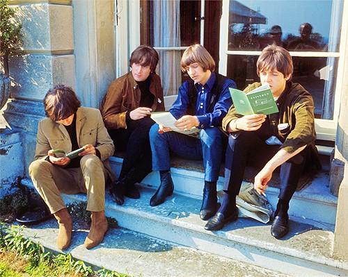 Reading Beatles....  =)