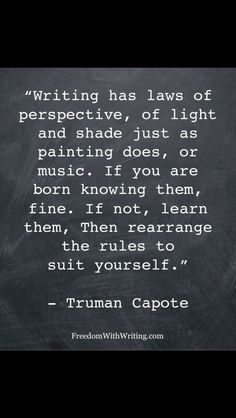 Writing Quote Of The Day