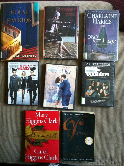 Library Book & Movie Haul