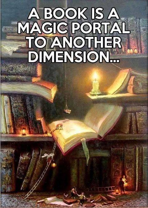 A book is a portal