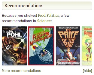 "Science fiction! TOTES related to ""Food Politics"""