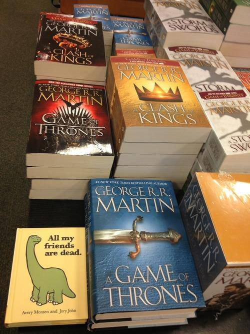 Book Placement Humour