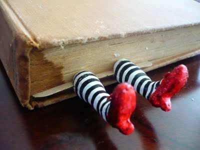 Wicked Witch bookmark... how cool is that