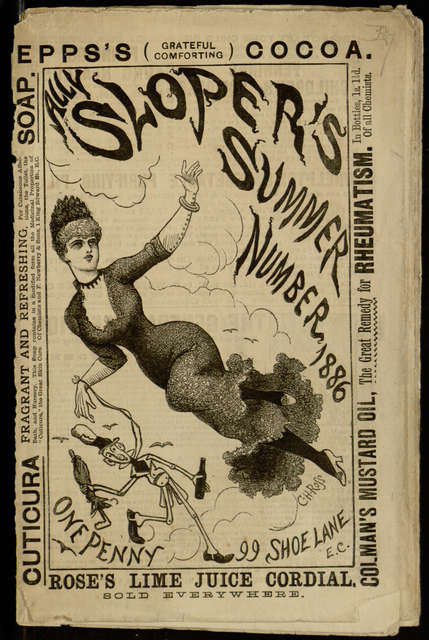 penny dread; Ally Sloper's Summer Number 1886