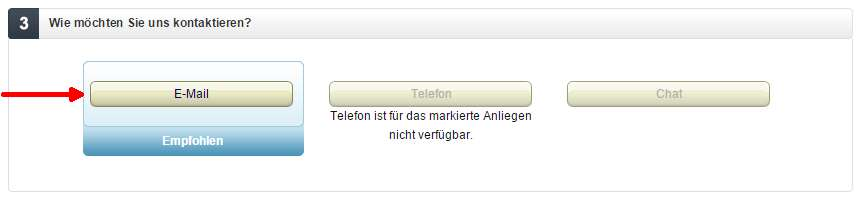 E-mail do amazon.de
