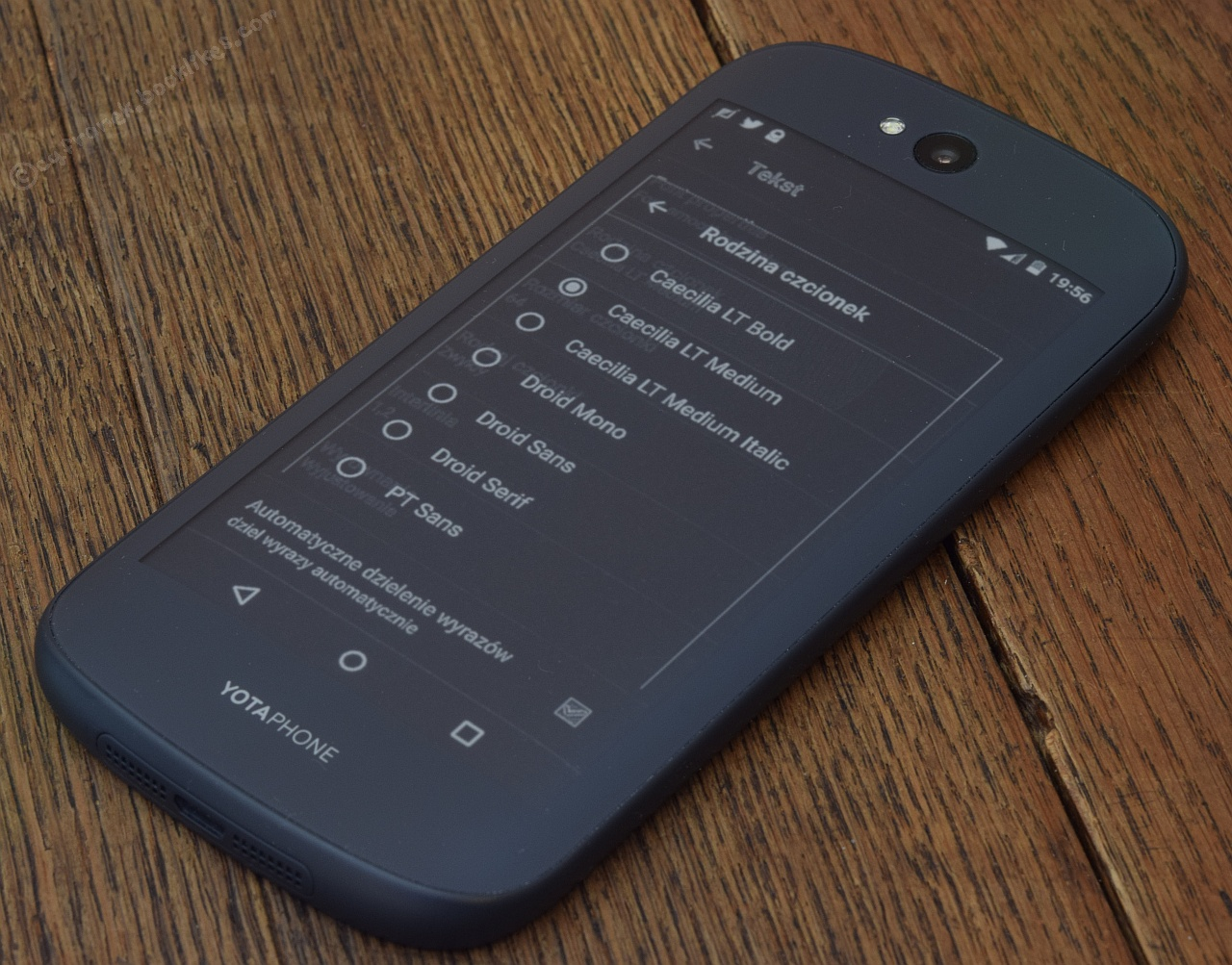 YotaPhone 2 - FB Reader