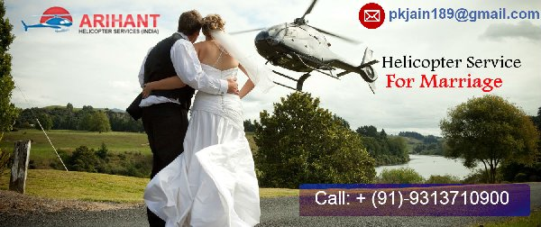 Affordable Helicopter Booking Service For Wedding In Punjab, India
