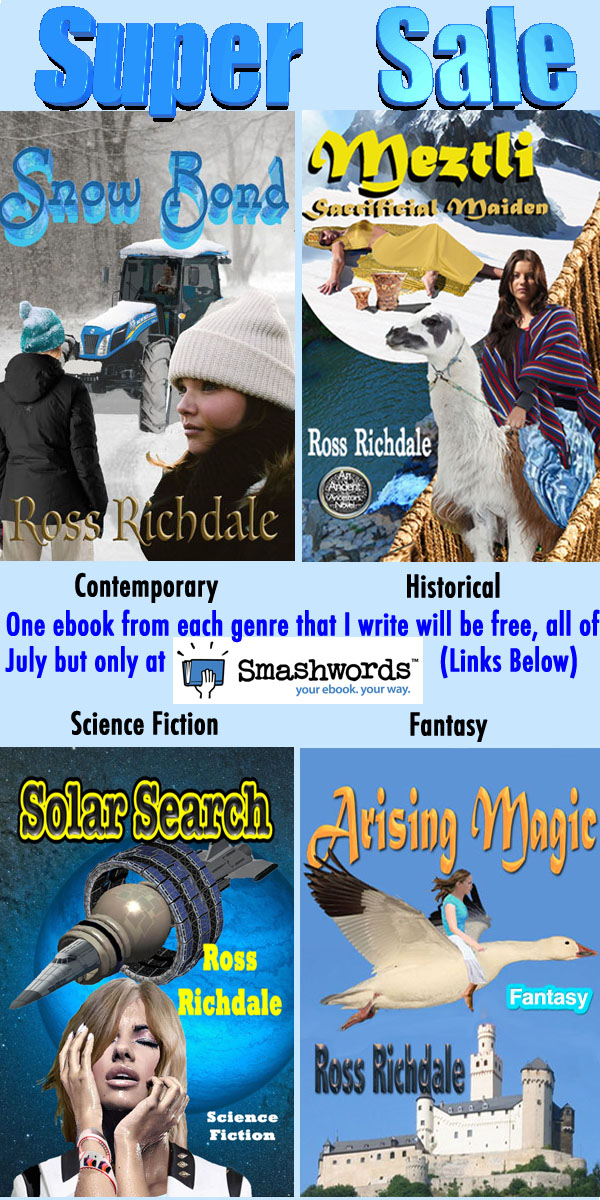 Free Ebooks for July
