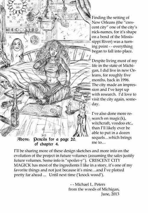 """Michael L. Peters' """"Crescent City Magick"""", 3"""