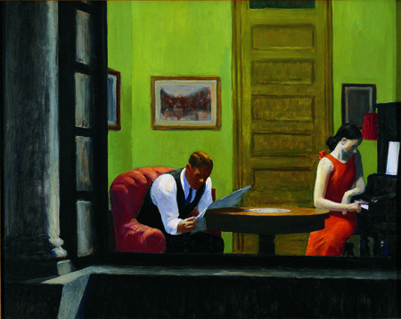 Room in New York by Edward Hooper