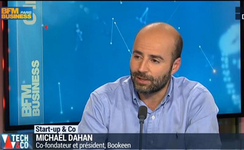 Michaël Dahan - szef firmy Bookeen w wywiadzie dla BFM TV