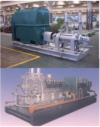 Deep Blue Group Boiler Feed Pumps Company, Boiler Room Part of Akay Industries Group