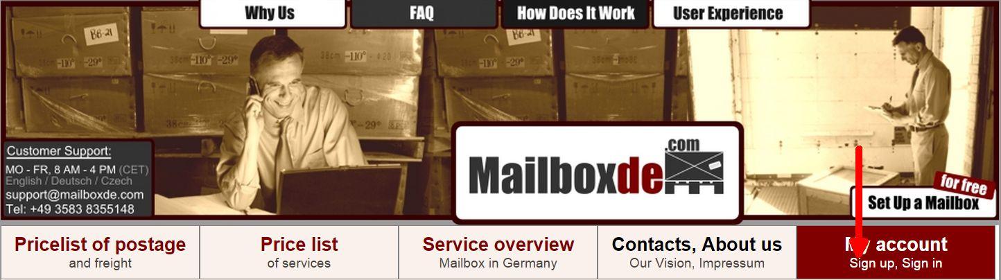 Strona główna mailboxde.com