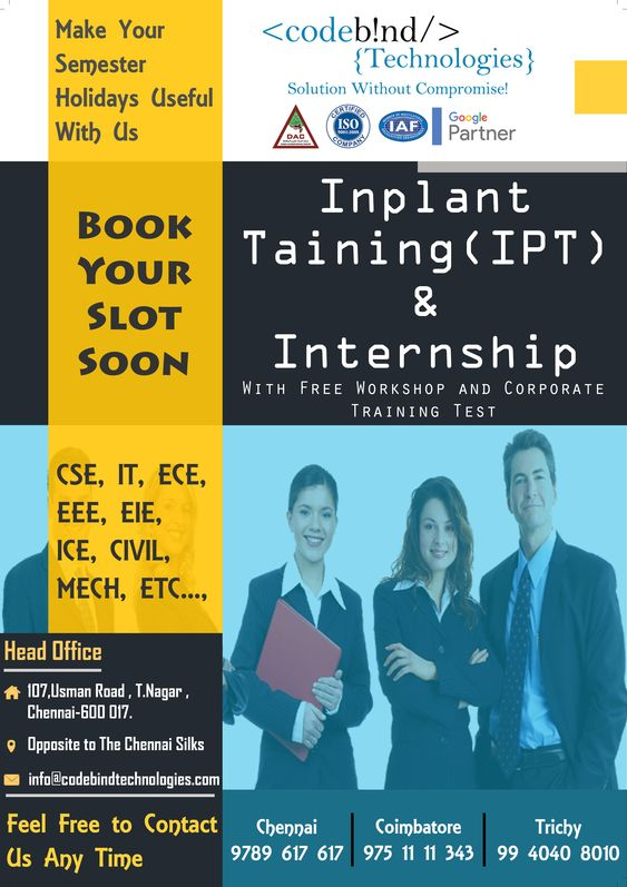 free internship in chennai