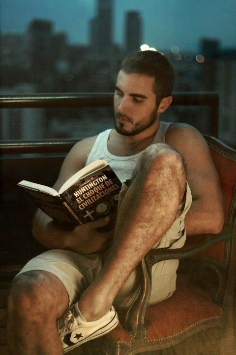 Hot Dudes Reading, #49