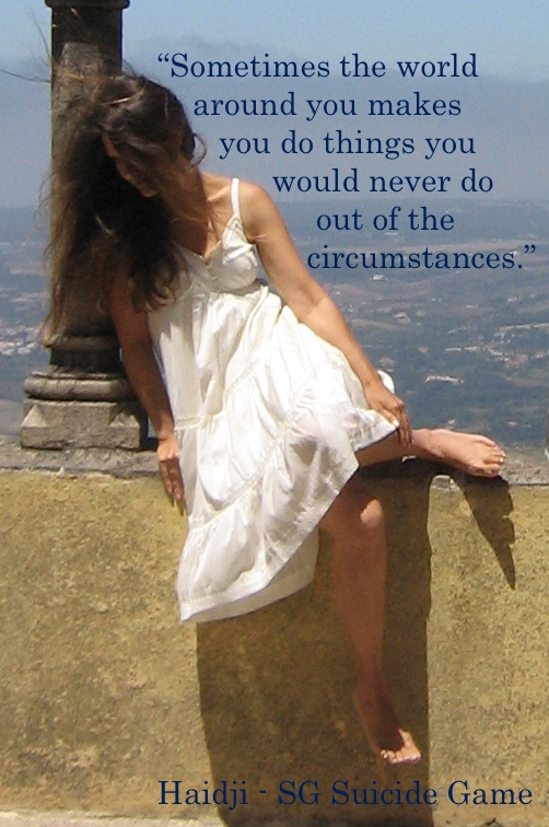 Circumstances - Book Quote - SG Suicide Game by Haidji