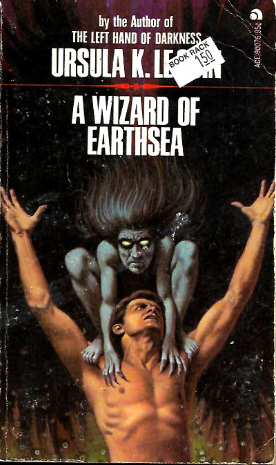 "I'd say, ""Can we talk about this paperback cover from '73?""* except I have no idea what I'd say!"