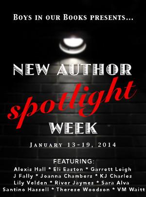 New Author Spotlight Week
