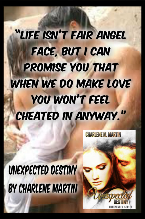 """Unexpected Destiny"" book two of the Unexpected Series."