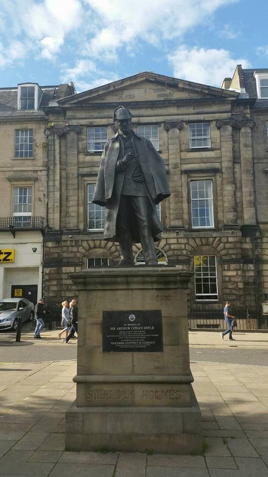 Sherlock Holmes statue (as and where I found it last year)