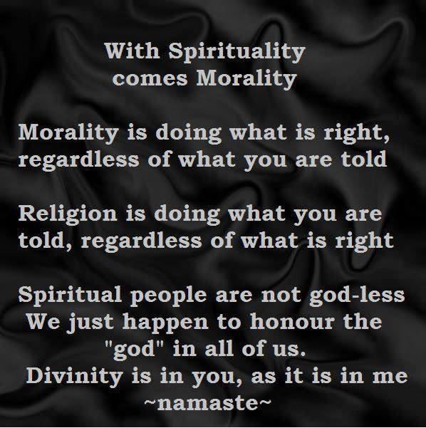 Spirituality, Morality and Vegetarianism