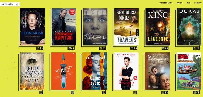 Lista książek Czytaj PL w 2016 r.