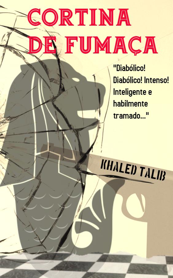 Book cover for the Portuguese version of thriller Smokescreen