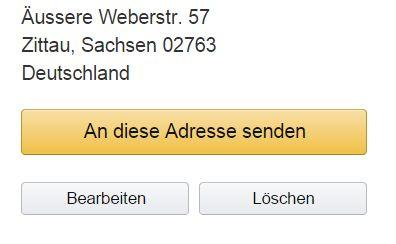 Adres wysyłki Kindle w Niemczech