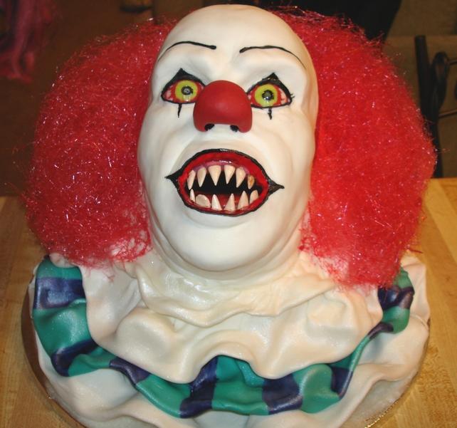 Stephen king Horror cake