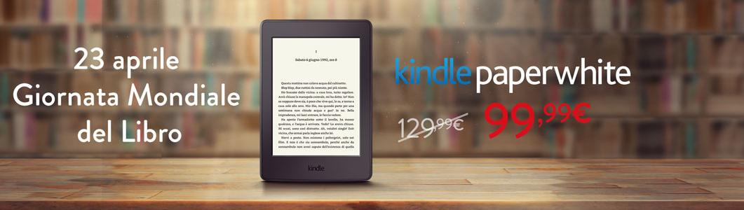 Kindle Paperwhite 3 z amazon.it