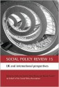 Social Policy Review - Catherine Bochel, Nicholas Ellison