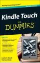 Kindle Touch for Dummies Portable Edition - Leslie H. Nicoll, Harvey Chute