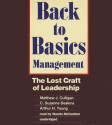 Back to Basics Management: The Lost Craft of Leadership - Arthur H. Young, C. Suzanne Culligan Deakins, Wanda McCaddon