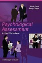 Psychological Assessment in the Workplace: A Manager's Guide - Mark Cook, Barry Cripps