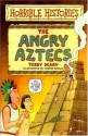 The Angry Aztecs - Terry Deary, Martin C. Brown
